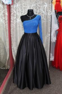 Sukne - Saténová sukňa - čierna - 9013286_