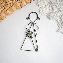 Detské doplnky - dievčatko s ružičkami - 9014128_