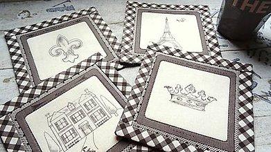 Úžitkový textil - Ma Maison ... podložky 4 ks - 9012970_