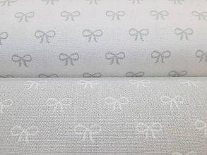 Textil - Bavlnená látka Sweeties - mašličky - 9011986_