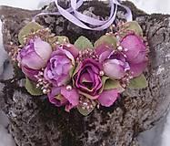 Náhrdelníky - Kvetinový náhrdelník - 9013481_