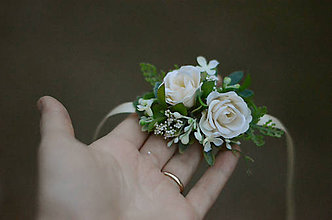 Náramky - Ráno v záhrade ruží - 9013525_