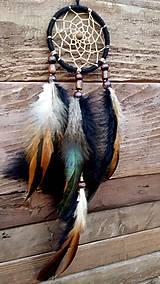 Dekorácie - Lapač snov Indián - 9011349_