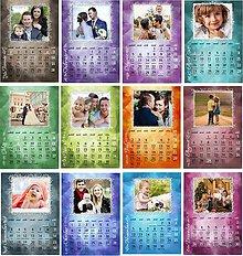 Papiernictvo - rodinný kalendár na rok 2018 rôzne formáty - 9013354_