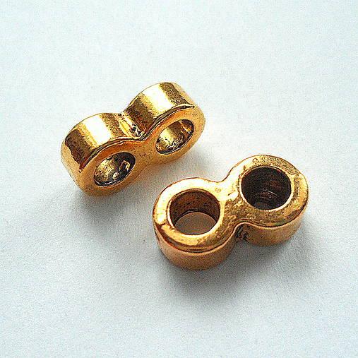 Rozdeľovník-1ks (13x7mm-antic.zlatá)