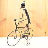 Dekorácie - Cyklista - 9012644_