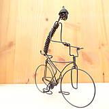 Dekorácie - Cyklista - 9012646_