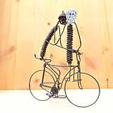 Dekorácie - Duo na bicykli - 9013350_