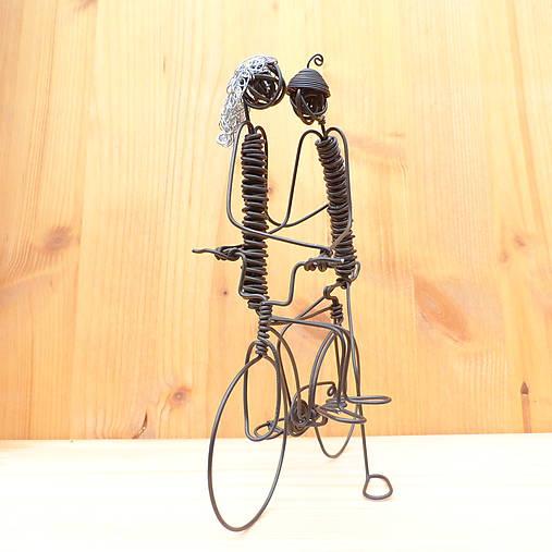 Duo na bicykli