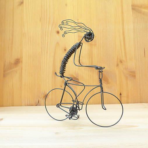Bláznivý cyklista