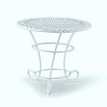 Iný materiál - Miniatúrna Záhradny stôl - 9011530_