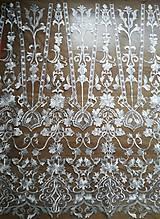 Textil - Svadobná krajka - 9011281_