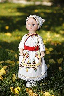 Bábiky - Krojovaná bábika (Čičmany) - 9014972_