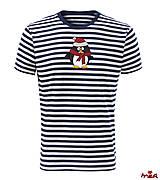 Oblečenie - Vianočný Penguin (krátkorukávové) - 9013540_