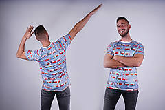 Tričká - MHD BA - pánske funkčné tričko - 9012315_