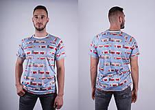Tričká - MHD BA - pánske funkčné tričko - 9012319_