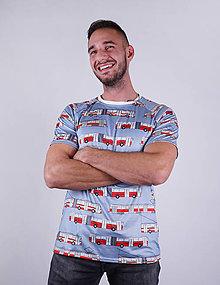 Tričká - MHD BA - pánske funkčné tričko - 9012393_