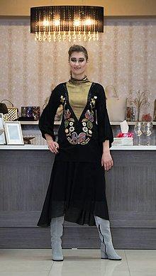 Šaty - Dvojdielne maľované šaty-ZĽAVA 40%! - 9014492_