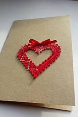 pohľadnica svadobná srdiečko