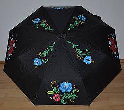Iné doplnky - Ručne maľovaný dáždnik - folk - 9012499_