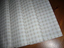 Úžitkový textil - Obrus káro-prúžok 69x30 - 9012445_