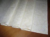 Úžitkový textil - Obrus vzor tapeta-prúžok 70x35 - 9013201_
