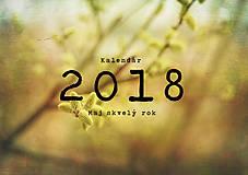 Grafika - Kalendár 2018 - 9012908_
