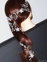 Girlanda do vlasov pre nevestu 75 x 6 cm