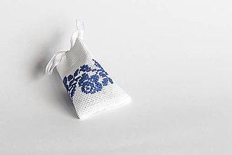 Úžitkový textil - Ruže v sade - folk mini vrecúško I - 9014259_