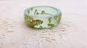 Prstene - Živicový prsteň - 9018298_