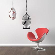 Dekorácie - Vtáčiky Sara a Rudi - 9016375_