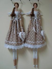 Bábiky - Dve hnedé na želanie - 9018565_