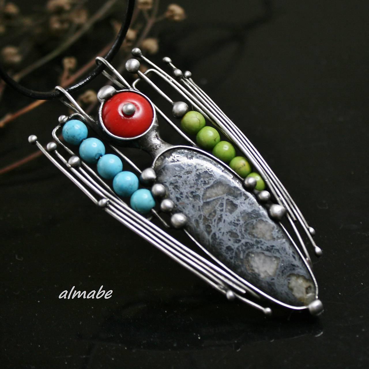 Probarveno - hematit   almabe - SAShE.sk - Handmade Náhrdelníky 8eb142821e