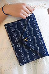 - Modrotlačová listová kabelka - 9016764_