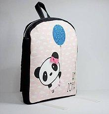 Detské tašky - RUKSAK s PANDOU od 2,5 r. - 9016426_