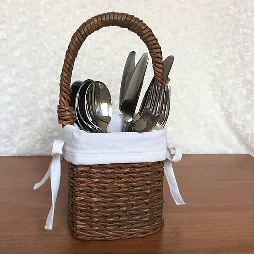 db3361641 Pletený košík na príbor / 2cats - SAShE.sk - Handmade Košíky