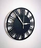 Hodiny - hodiny rímske čísla 40 cm - 9015149_