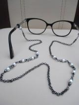 Iné šperky - Retiazka na okuliare z bižutérneho kovu - 9018971_