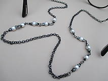 Iné šperky - Retiazka na okuliare z bižutérneho kovu - 9018972_