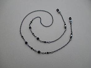 Iné šperky - Retiazka na okuliare z bižutérneho kovu - 9018518_