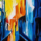 Obrazy - Obraz From the window, 50 x 50 cm, akryl na plátne - 9017625_