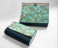 Peňaženky - Peňaženka + kozmetická taštička - 9017611_