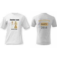 Tričká - Ženíchov TEAM - tričko na rozlúčku so slobodou - 9018794_