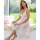 Pyžamy a župany - Jasmine - nočná košeľa, hodváb, rôzne farby - 9019513_