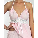 Pyžamy a župany - Lullaby - košieľka a nohavice, rôzne farby - 9019815_