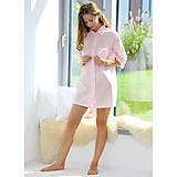 Pyžamy a župany - Lotus - dlhá košeľa, rôzne farby, bio bavlna - 9019854_