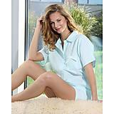 Pyžamy a župany - Lotus flanel - košeľa so šortkami, rôzne farby - 9019875_