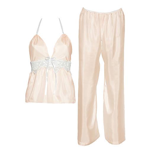 Jasmine - košieľka a nohavice, hodváb, rôzne farby