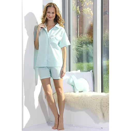 Lotus flanel - košeľa so šortkami, rôzne farby