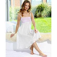 Pyžamy a župany - Angel - nočná košeľa, hodváb - 9019160_